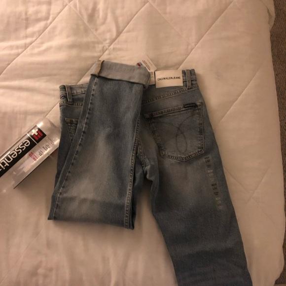 Calvin Klein Jeans Other - CALVIN KLEIN LIGHT WASH DENIM JEANS